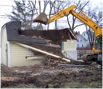 Cincinnati Garage Demolition Services